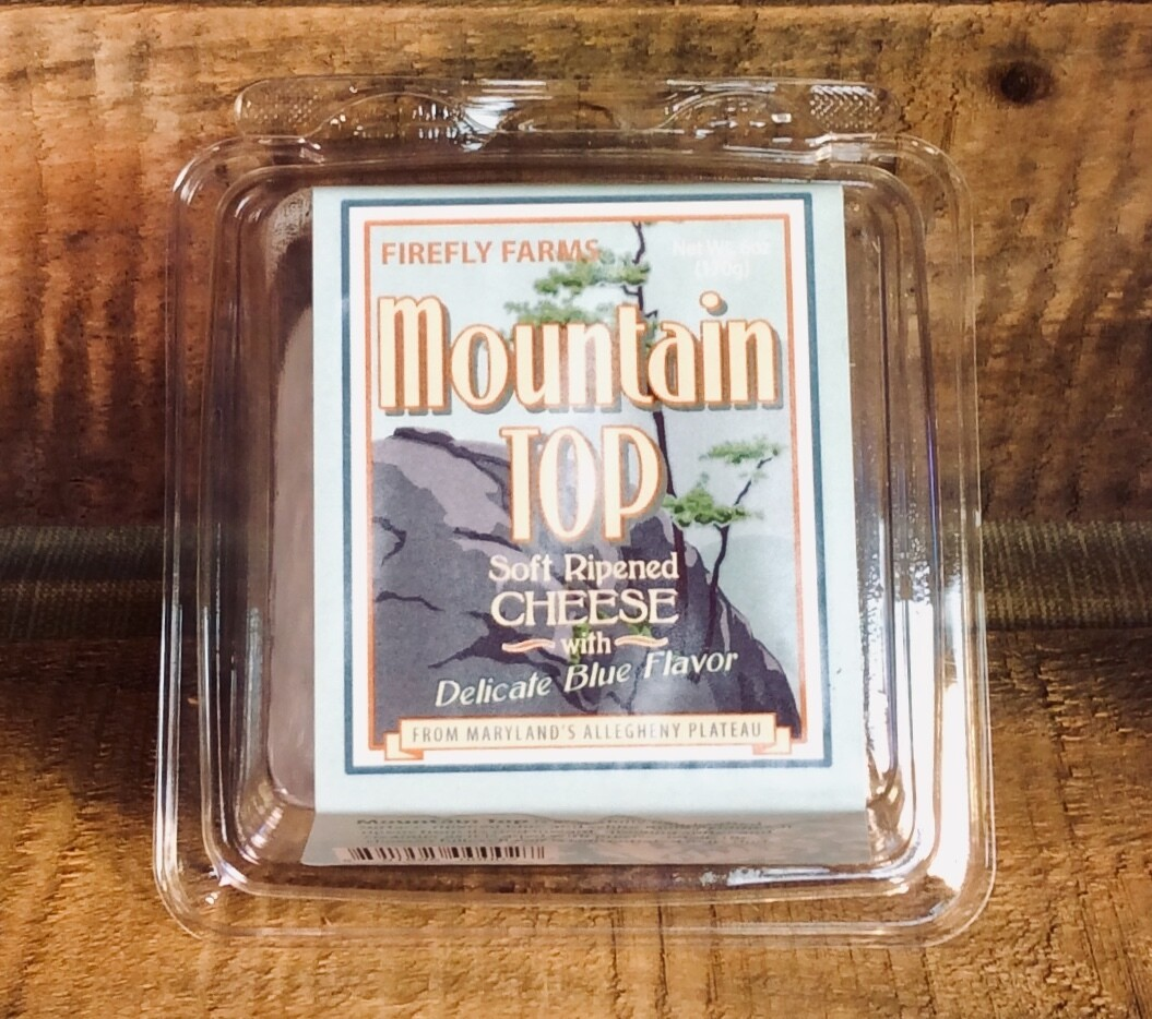 cheese, mountain top bleu; each; Firefly Farms