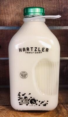milk, non-homogenized; each; Hartzler