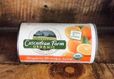 juice, orange, concentrate, organic; each, Cascadian Farm