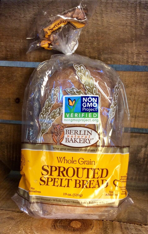 bread, sprouted spelt; each; Berlin Bakery
