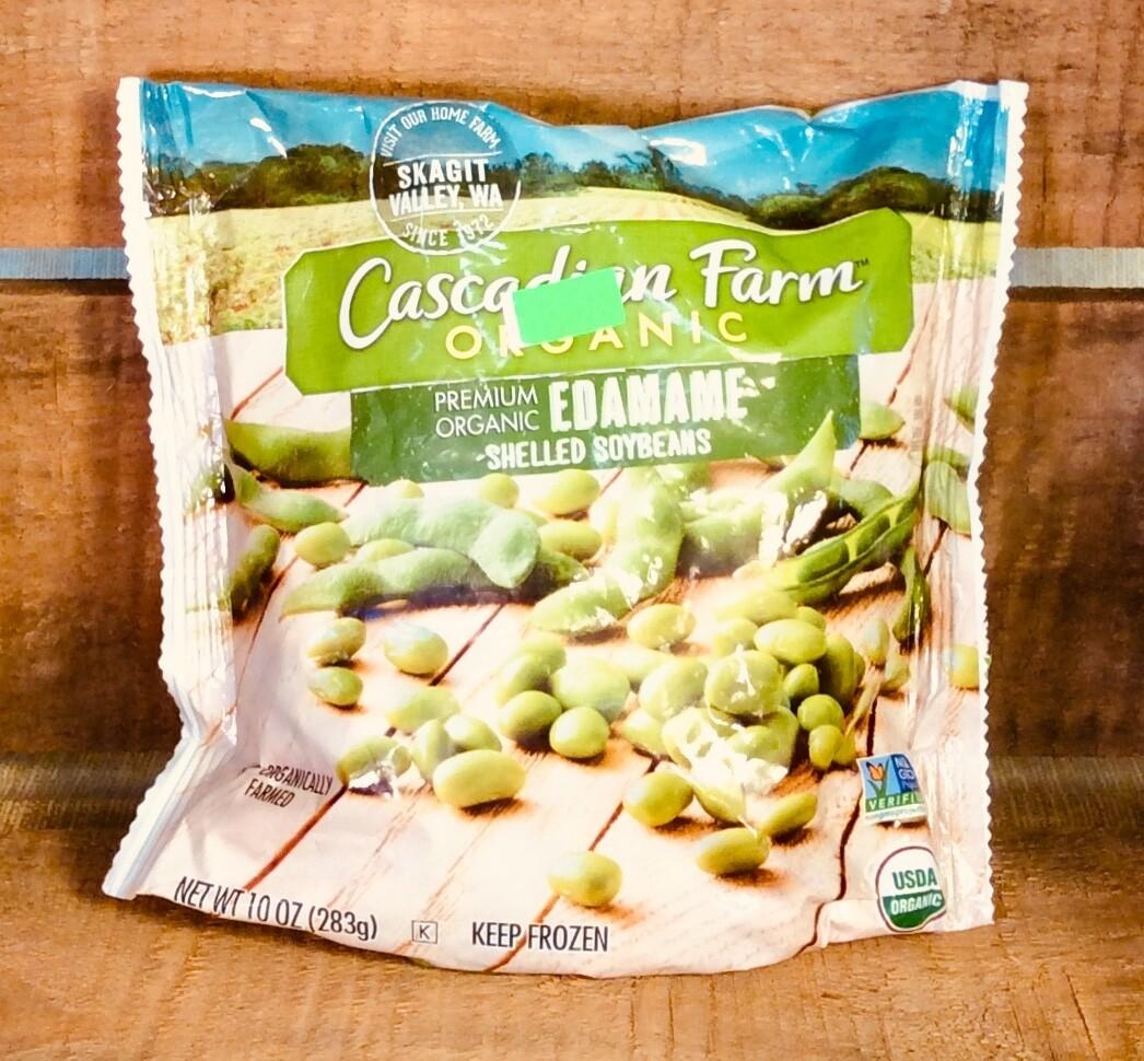 beans, edamame, frozen; 10 ounce, Cascadian Farm