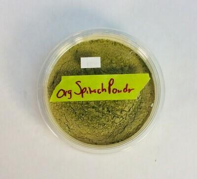 spinach powder, Frontier Organic; 8 oz; each