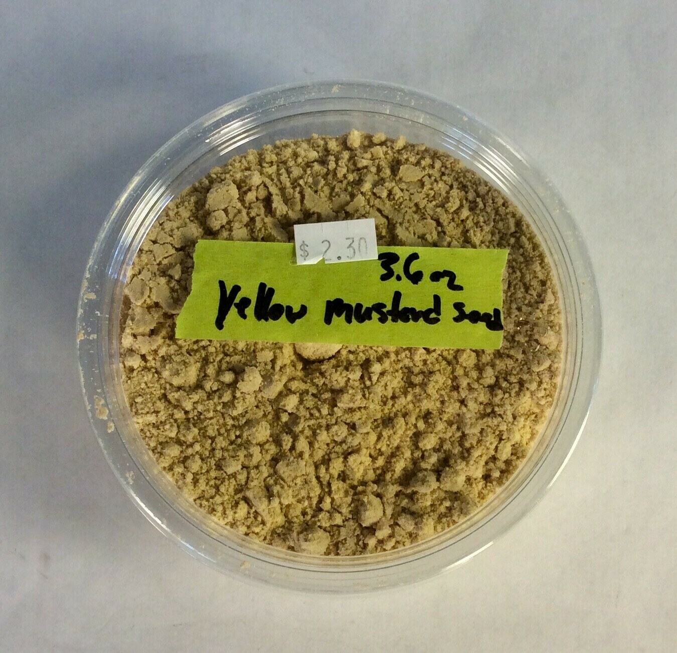 mustard, yellow; 3.6 oz; Frontier Organic; each