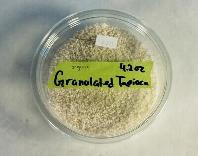 tapioca, granulated, Frontier Organic; 4.5 oz; each