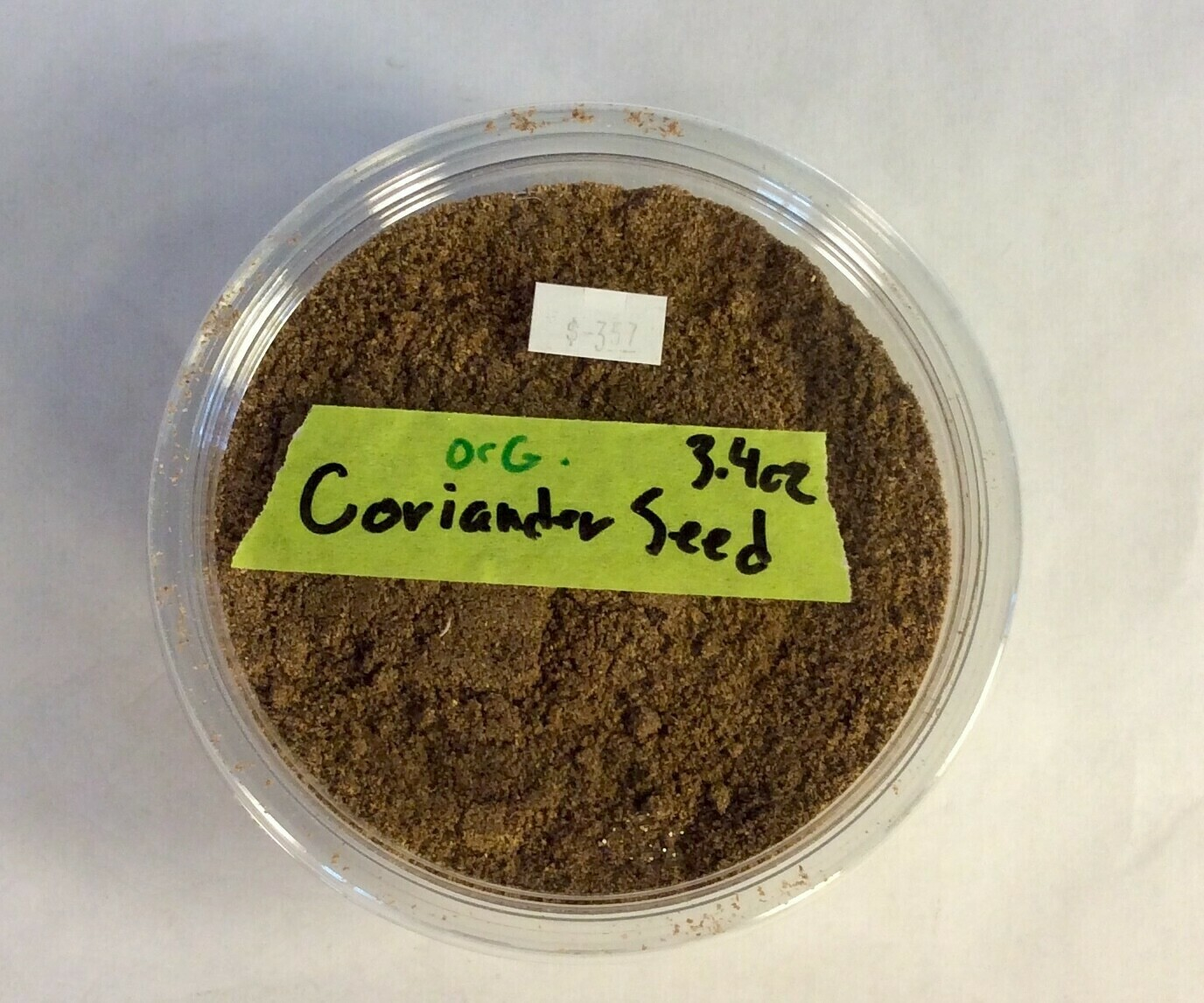 coriander powder, 3.4 oz; Frontier Organic; each