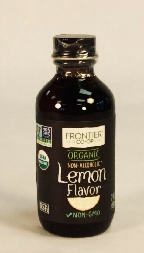 extract; lemon; 2 oz; Frontier Organic