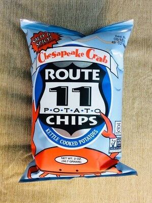 chips, Chesapeake Crab, 2 ounce; each; Route 11