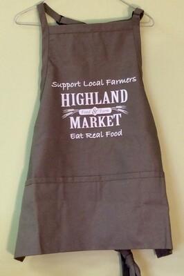 apron, Highland Market; each