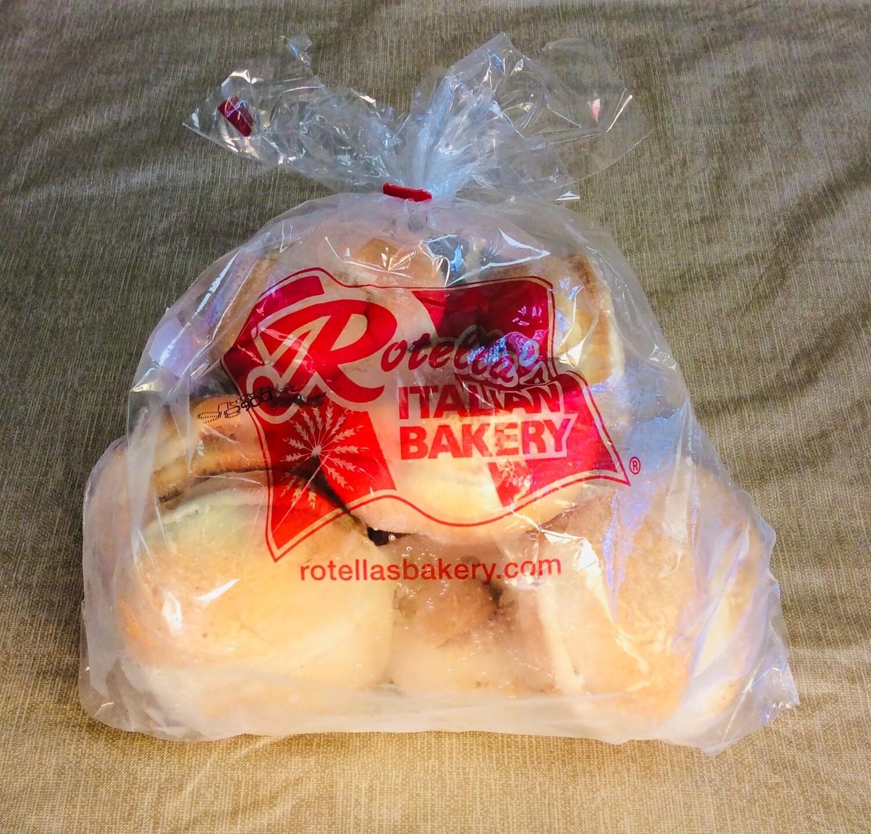 brioche buns, 8 per pack; Rotella