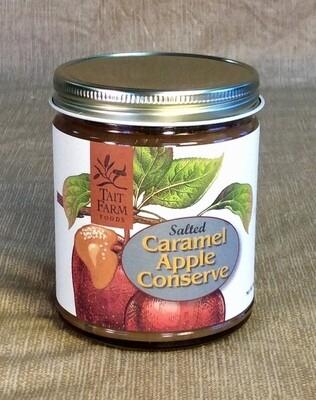 caramel apple conserve, salted; 9oz; Tait Farm
