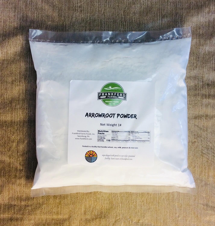 arrowroot powder, 1 pound; Frankferd Farm