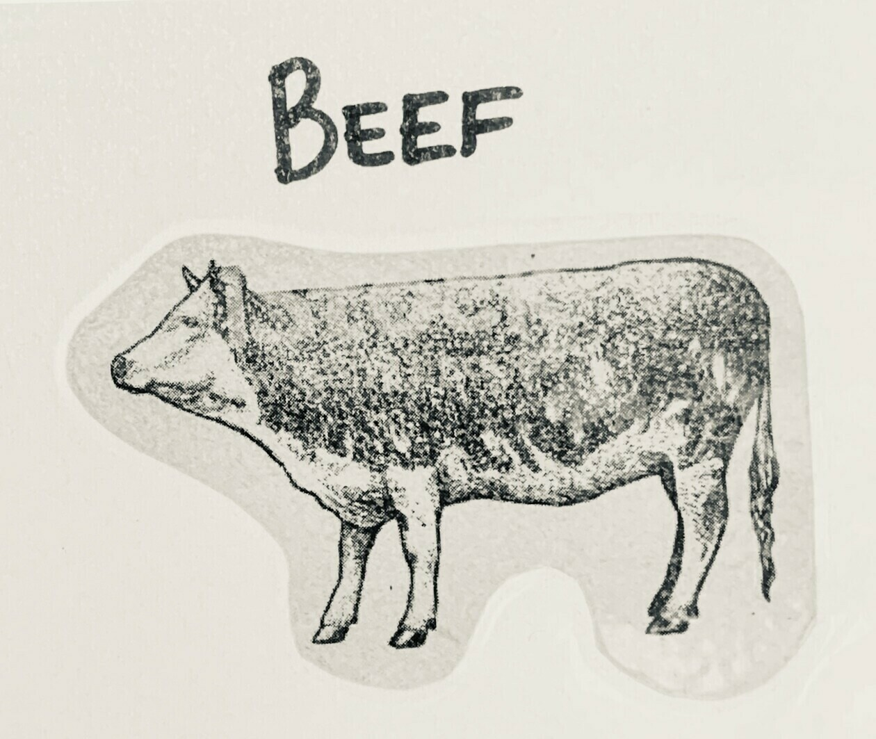 beef, round roast; each; Watermark Farm
