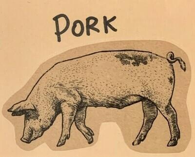 pork, roast, picnic; each; Watermark Farm