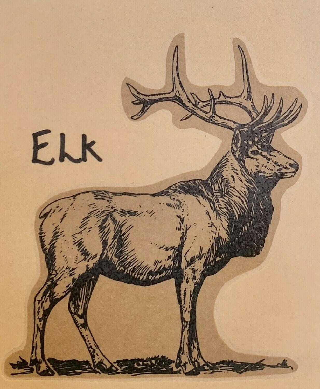 elk, ground, per pack; Shaffers Farm