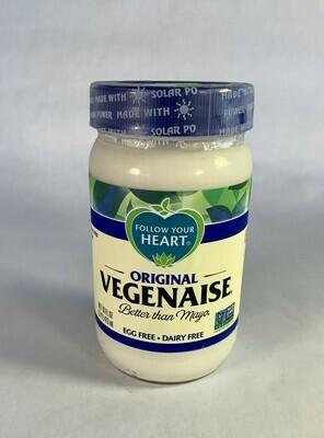 veganaise, original, egg & dairy free, 16 oz; each; Follow Your Heart
