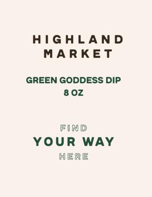 dip, frozen, green goddess, 8 ounce; Real Foods