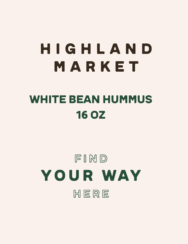 hummus, frozen, white bean, 16 oz; each; Real Foods