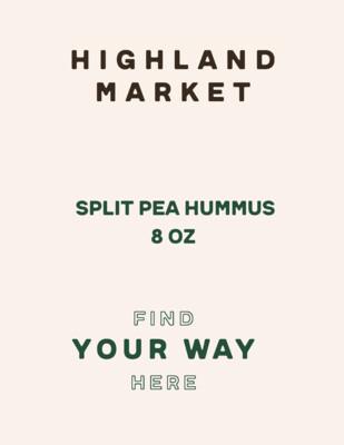 hummus, frozen, split pea; 8oz; each; Real Foods