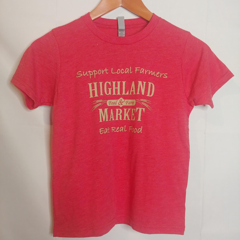 t shirt, kids, Highland Market