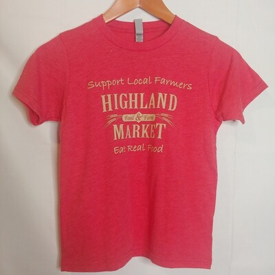 t shirt, kids, Highland Market