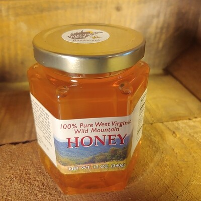 honey, 12oz; each; Mountain State Honey