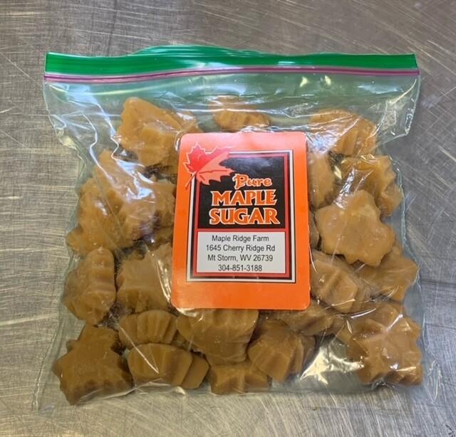candy, maple sugar, bulk bag; each; Maple Ridge Farm