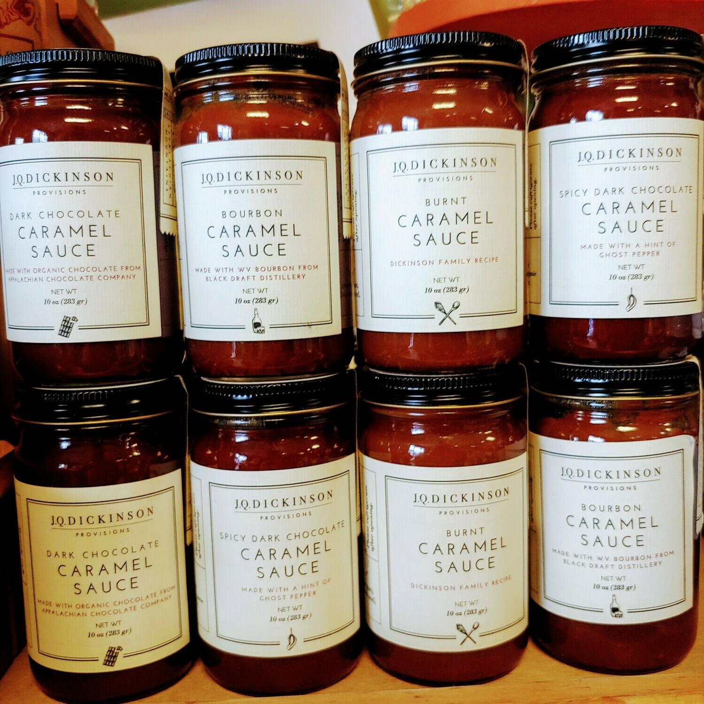 Caramel Sauce; 10oz Jar; JQ Dickenson