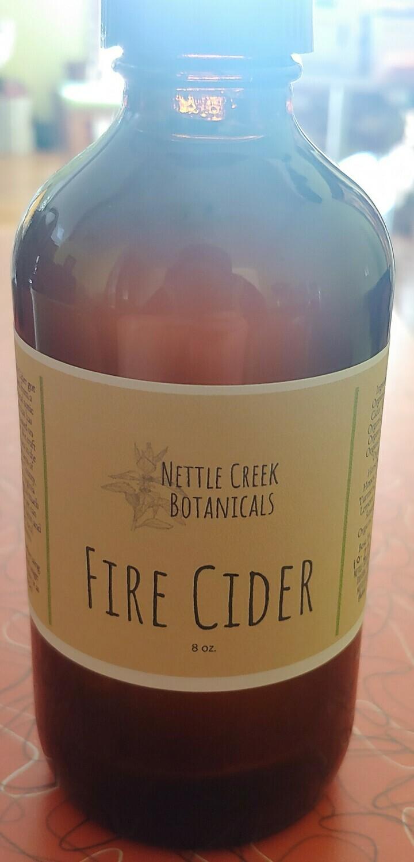 fire cider, Nettle Creek Botanicals