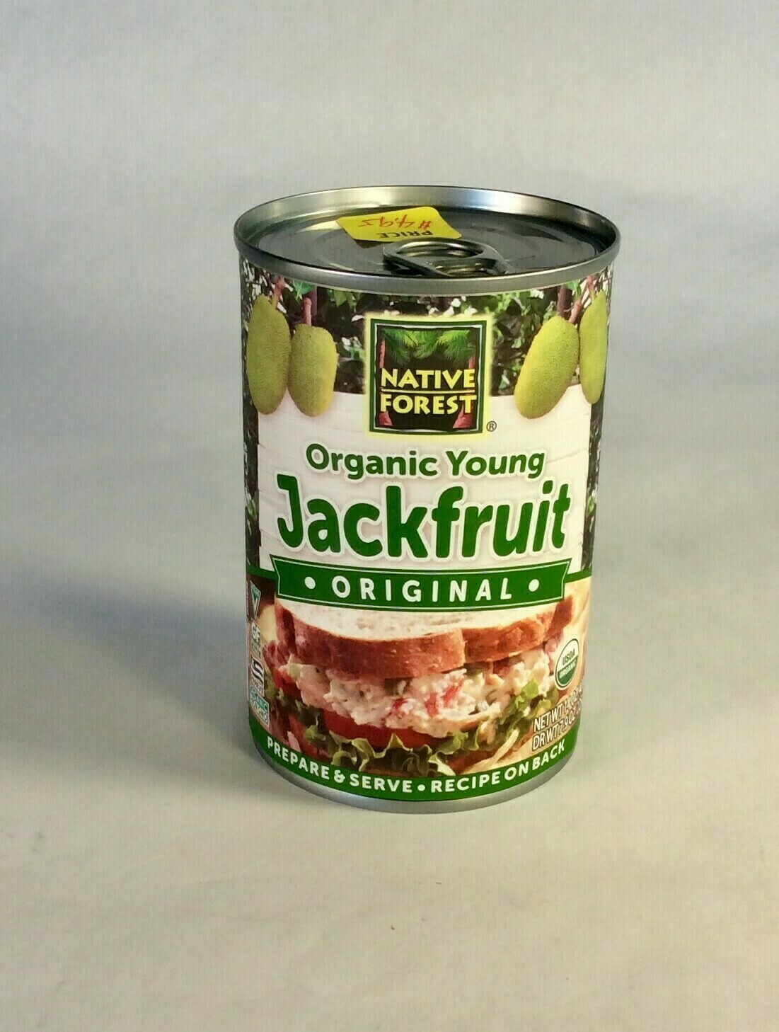 jackfruit, organic; 14oz; Edward & Son