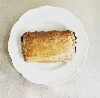 croissants, chocolate, take & bake; 4 pack; Baker Source