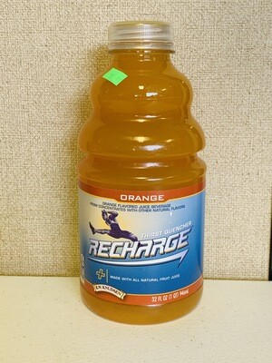 drink, Recharge Thirst Quencher, orange; 32 oz. RW Knudsen