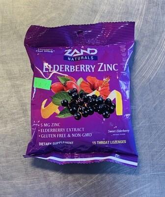 lozenge, elderberry zinc, 15 count; Zand