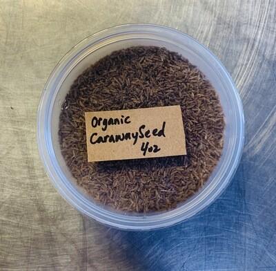 caraway seed, organic; 4oz; Frontier