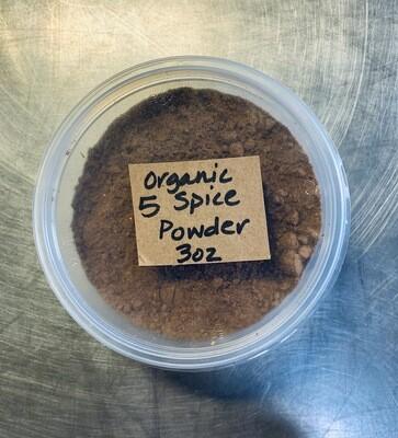 five spice, powder; 3oz; Frontier