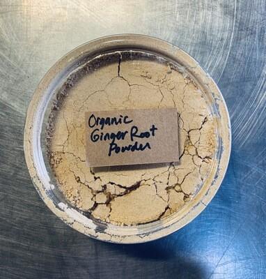 ginger root powder, organic; 3oz; Frontier