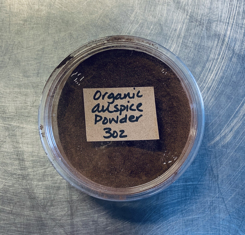 allspice, powder, organic; 3oz; Frontier