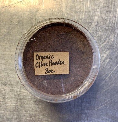 cloves, powder, organic; 3oz; Frontier