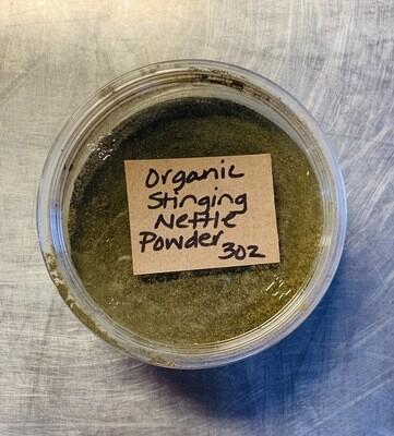 nettle, stinging, powder organic; 3oz; Frontier