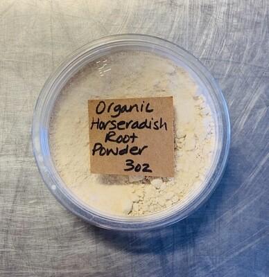 horseradish root, powder, organic; 3oz, Frontier