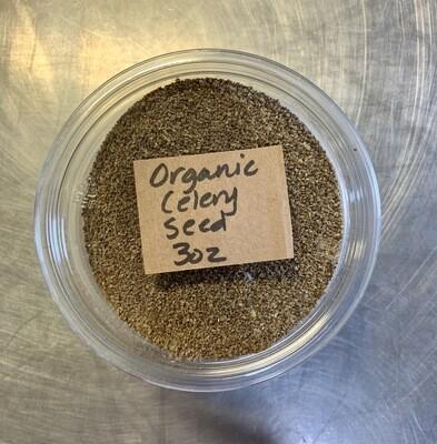 celery seed, organic; 3oz; Frontier