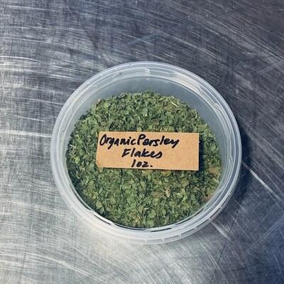 parsley, leaf, organic; 1oz;Frontier
