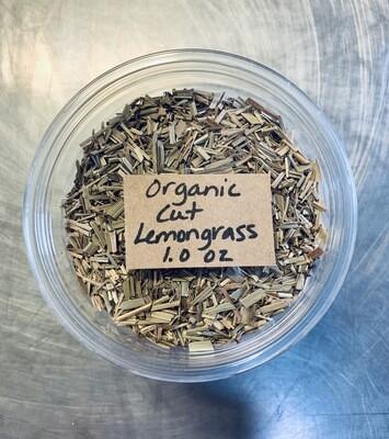 lemongrass, cut, organic; 1oz; Frontier