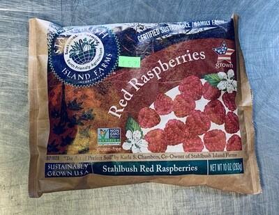 raspberry, frozen; 10oz; Stahlbush Farms