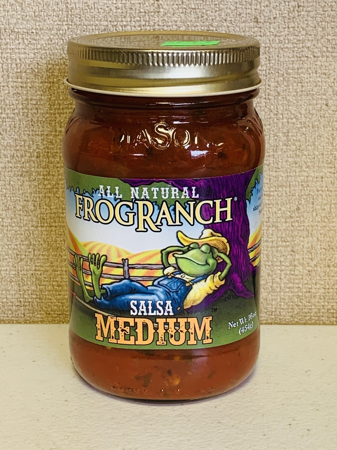 salsa, medium, 16oz; Frog Ranch