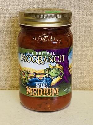 salsa, medium, 16oz; Frog Ranch