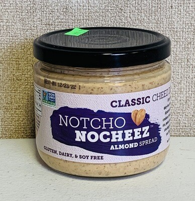 Notcho Nocheez, classic almond spread; each; Frankferd