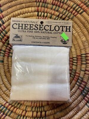 cheese cloth; each