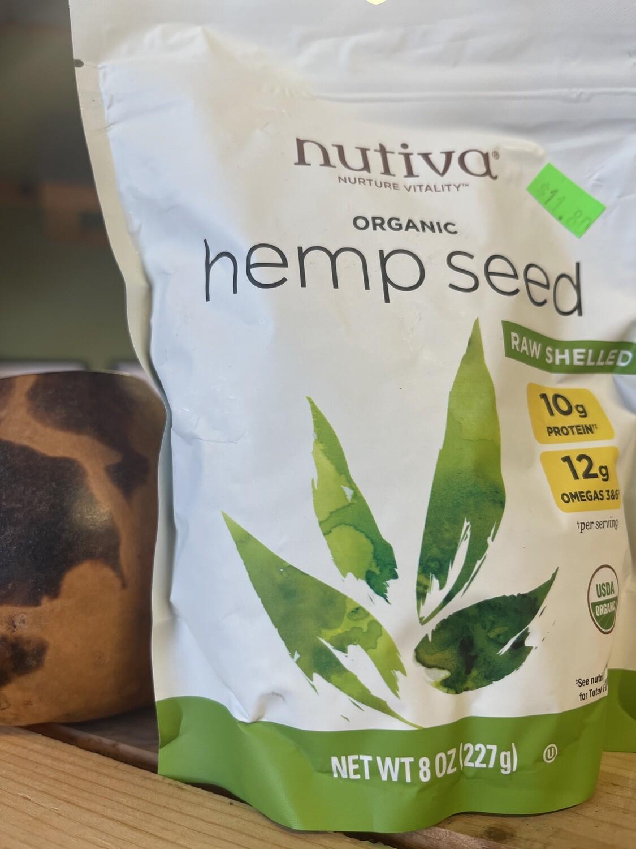 hempseed, 8 ounce; each; Nutiva