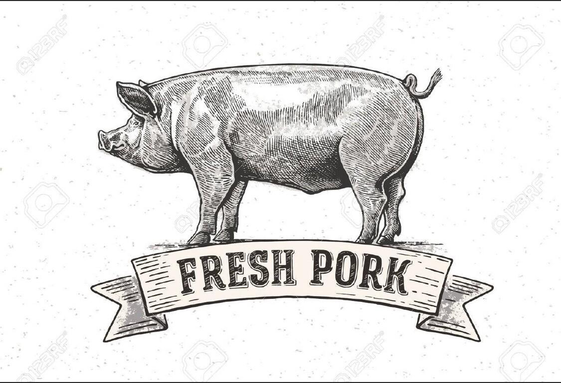 frankfurter, all pork; 4 large links; per pack; CJ Mt. Morgans Farm