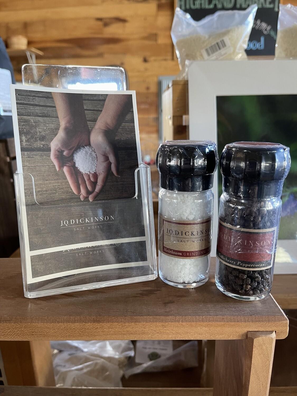 peppercorn grinder; tellicherry; 1.6 oz; each; JQ Dickenson